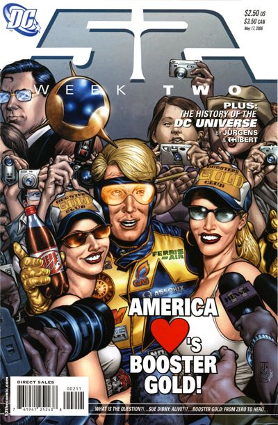 Cover for 52 (DC, 2006 series) #2