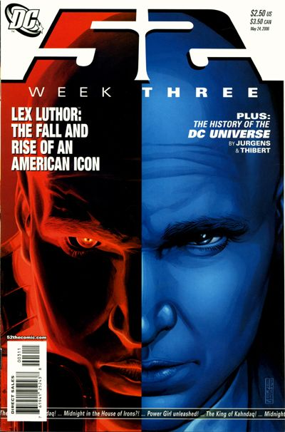 Cover for 52 (DC, 2006 series) #3 [Direct Sales]