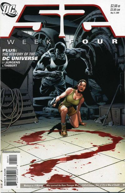 Cover for 52 (DC, 2006 series) #4