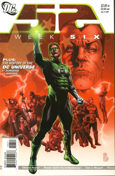 Cover for 52 (DC, 2006 series) #6