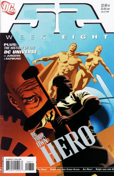 Cover for 52 (DC, 2006 series) #8