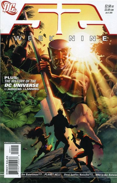 Cover for 52 (DC, 2006 series) #9