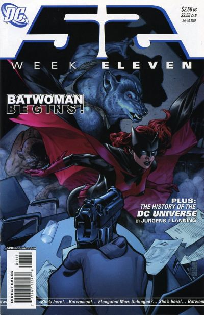Cover for 52 (DC, 2006 series) #11