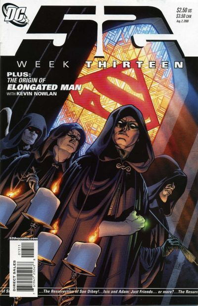 Cover for 52 (DC, 2006 series) #13