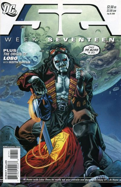 Cover for 52 (DC, 2006 series) #17