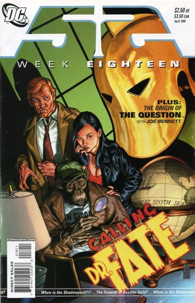 Cover for 52 (DC, 2006 series) #18