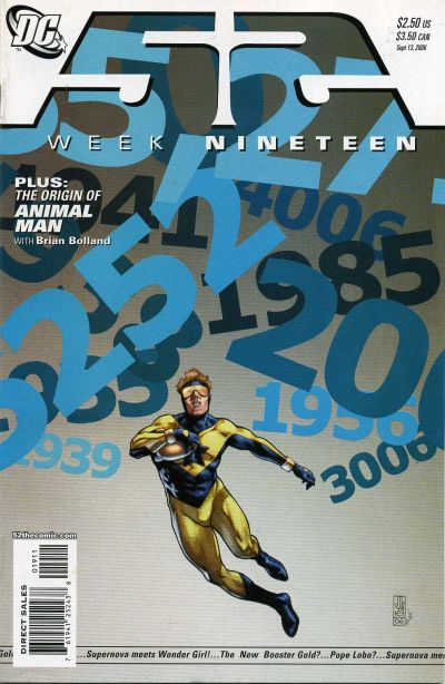 Cover for 52 (DC, 2006 series) #19