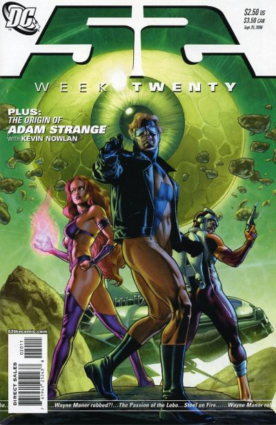 Cover for 52 (DC, 2006 series) #20 [Newsstand]