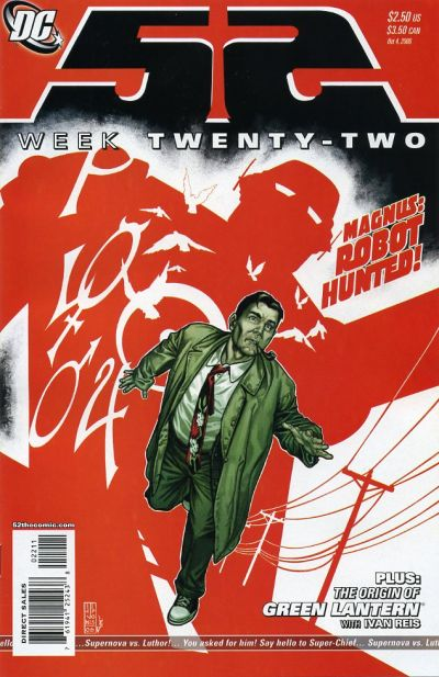 Cover for 52 (DC, 2006 series) #22