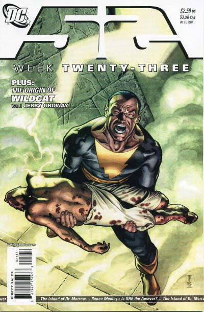 Cover for 52 (DC, 2006 series) #23