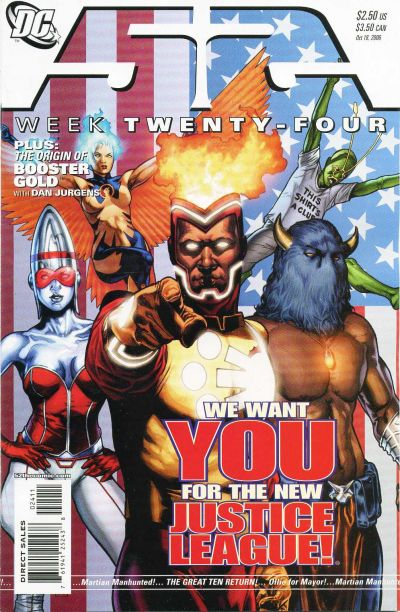 Cover for 52 (DC, 2006 series) #24