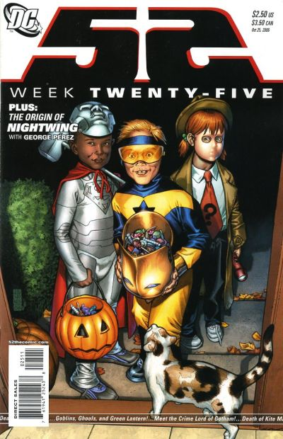 Cover for 52 (DC, 2006 series) #25 [Newsstand]