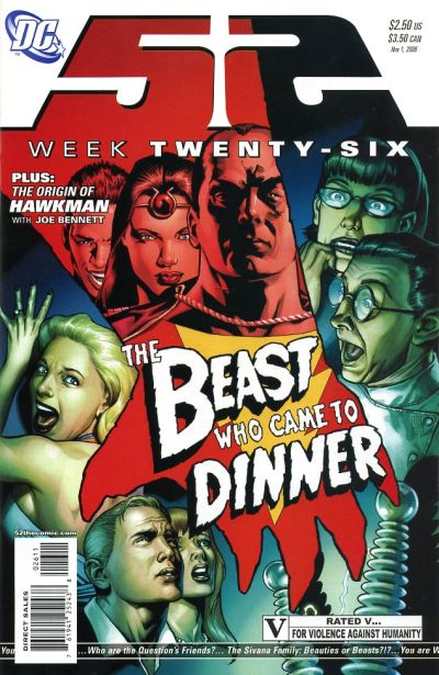 Cover for 52 (DC, 2006 series) #26
