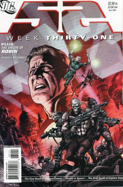 Cover for 52 (DC, 2006 series) #31