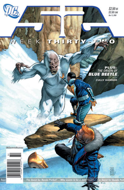 Cover for 52 (DC, 2006 series) #32