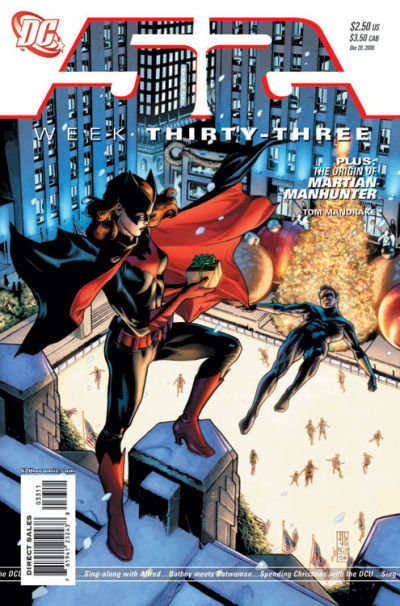 Cover for 52 (DC, 2006 series) #33