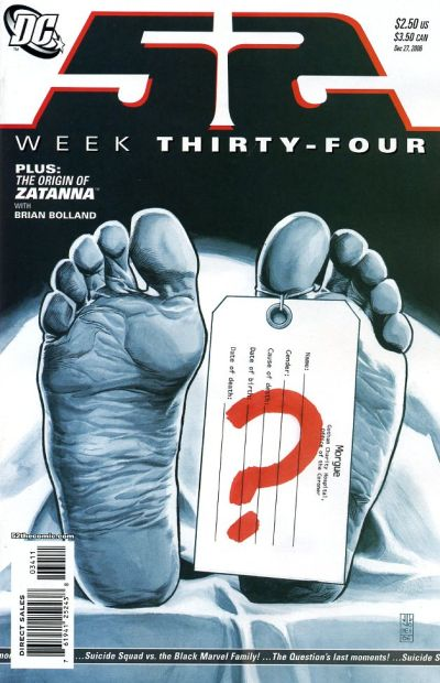 Cover for 52 (DC, 2006 series) #34