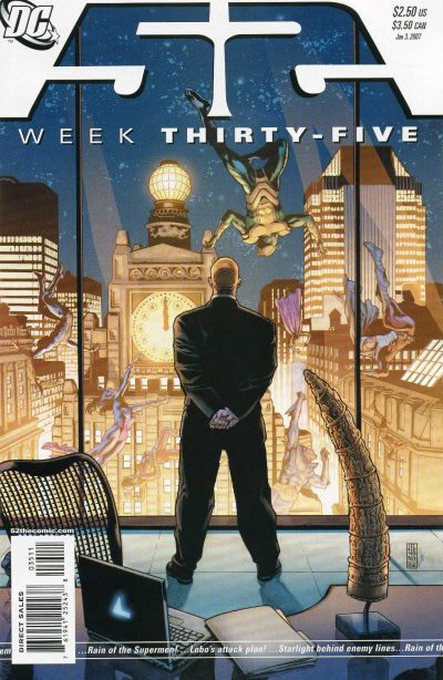Cover for 52 (DC, 2006 series) #35 [Newsstand]
