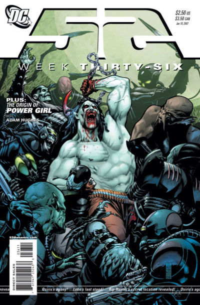 Cover for 52 (DC, 2006 series) #36