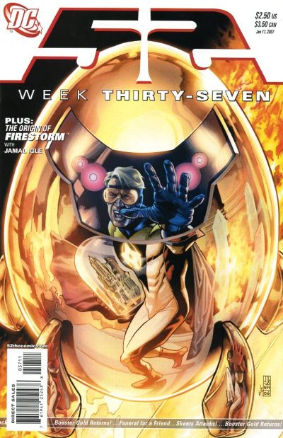 Cover for 52 (DC, 2006 series) #37
