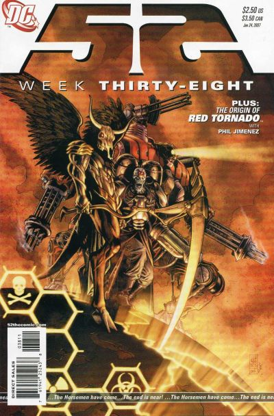 Cover for 52 (DC, 2006 series) #38