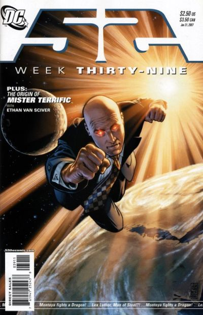 Cover for 52 (DC, 2006 series) #39 [Newsstand]