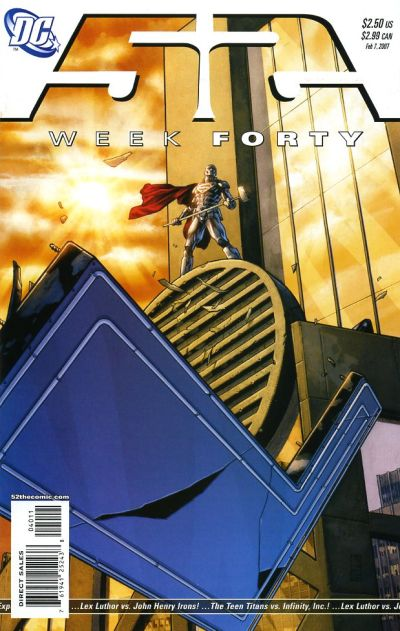 Cover for 52 (DC, 2006 series) #40