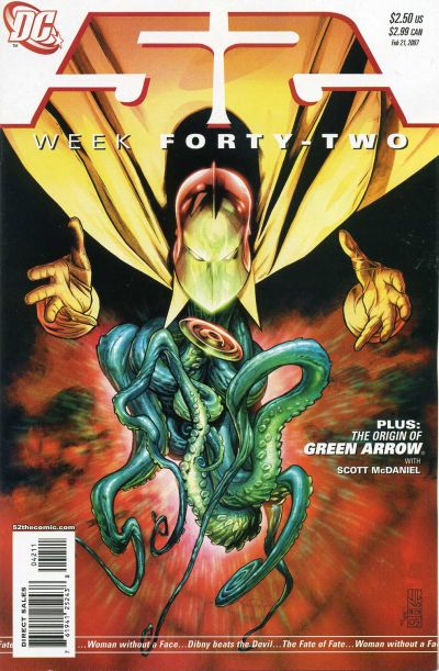 Cover for 52 (DC, 2006 series) #42 [Newsstand]