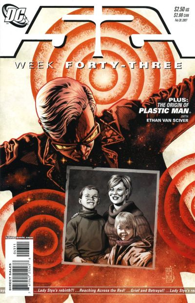 Cover for 52 (DC, 2006 series) #43 [Newsstand]