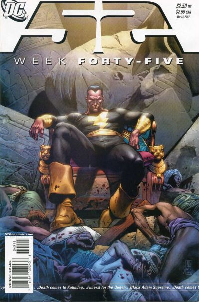 Cover for 52 (DC, 2006 series) #45 [Newsstand]