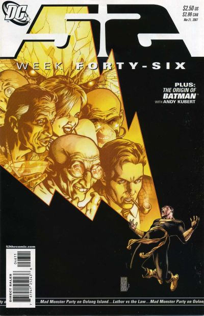 Cover for 52 (DC, 2006 series) #46 [Direct Sales]