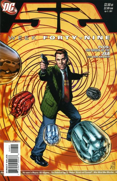 Cover for 52 (DC, 2006 series) #49