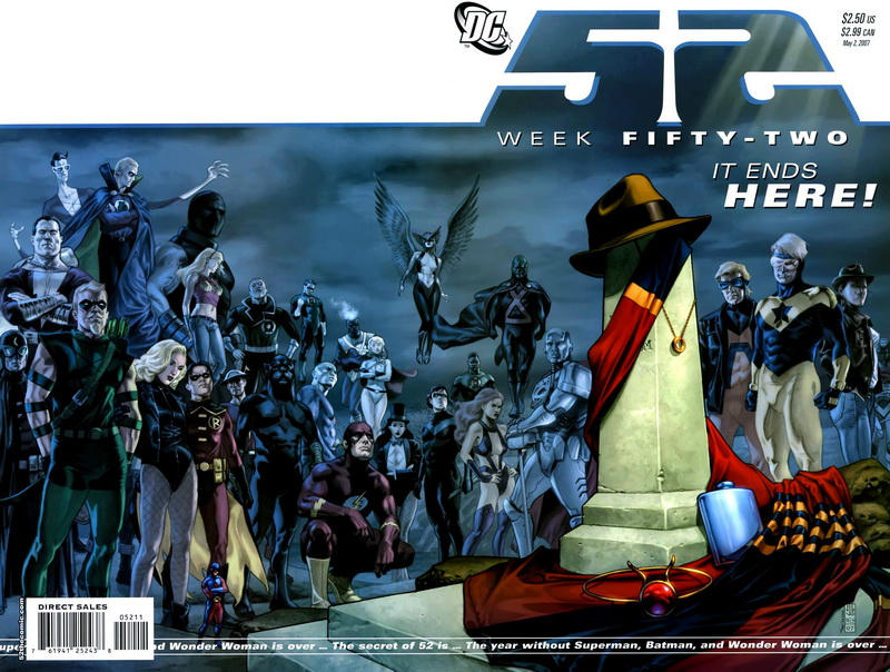 Cover for 52 (DC, 2006 series) #52