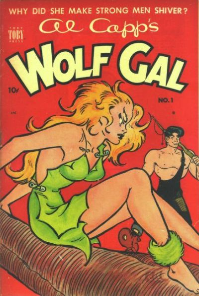 Cover for Al Capp's Wolf Gal (Toby, 1951 series) #1