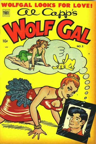Cover for Al Capp's Wolf Gal (Toby, 1951 series) #2