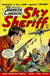 Cover for Breeze Lawson, Sky Sheriff (D.S. Publishing, 1948 series) #v1#1
