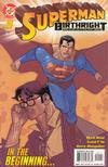 Cover for Superman: Birthright (DC, 2003 series) #1 [Direct Sales]