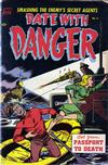 Cover for Date with Danger (Pines, 1952 series) #6