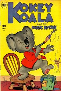 Cover Thumbnail for Kokey Koala (Toby, 1952 series) #1