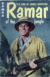 Cover Thumbnail for Ramar of the Jungle (Toby, 1954 series) #1