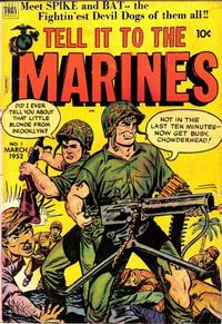 Cover Thumbnail for Tell It to the Marines (Toby, 1952 series) #1