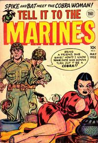 Cover Thumbnail for Tell It to the Marines (Toby, 1952 series) #2