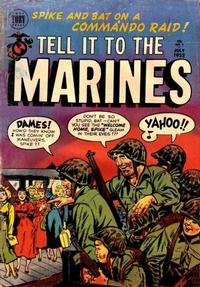Cover Thumbnail for Tell It to the Marines (Toby, 1952 series) #3