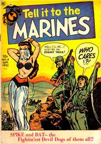 Cover Thumbnail for Tell It to the Marines (Toby, 1952 series) #4