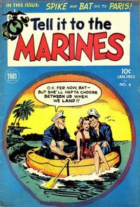 Cover Thumbnail for Tell It to the Marines (Toby, 1952 series) #6