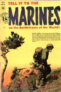 Cover Thumbnail for Tell It to the Marines (Toby, 1952 series) #8