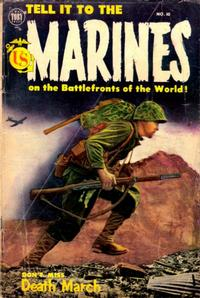 Cover Thumbnail for Tell It to the Marines (Toby, 1952 series) #10