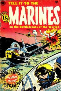Cover Thumbnail for Tell It to the Marines (Toby, 1952 series) #11