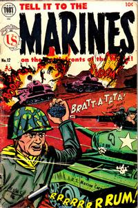 Cover Thumbnail for Tell It to the Marines (Toby, 1952 series) #12