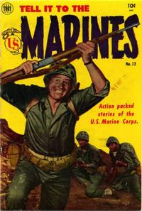 Cover Thumbnail for Tell It to the Marines (Toby, 1952 series) #13